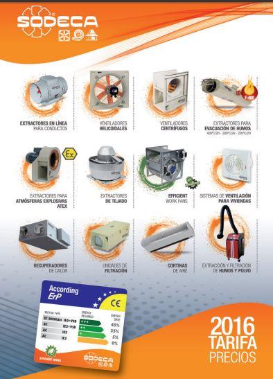 catalogo sodeca 2016