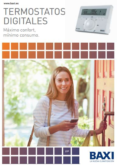 catalogo termostatos baxi 2016
