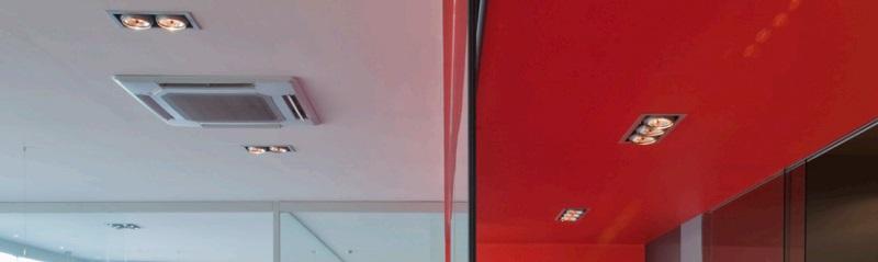 Aire Acondicionado Compo Multi Mitsubishi PLA-RP - Cassette Unidad interior - Ambiente