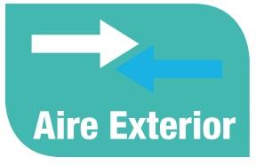 Aire Acondicionado Mitsubishi  - Prestaciones - Aire exterior