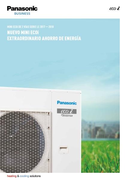 Aire Acondicionado Panasonic VRF Mini ECOi - Ficha de producto