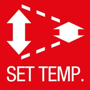Aire Acondicionado Split Fujitsu - Funcion Fijación del rango de temperatura