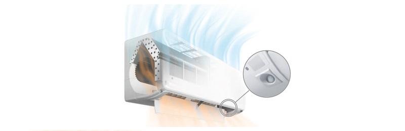Aire Acondicionado Split Fujitsu KG - Power Diffuser