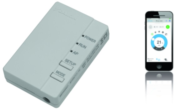 Aire acondicionado Control Wifi  Daikin BRP069A81