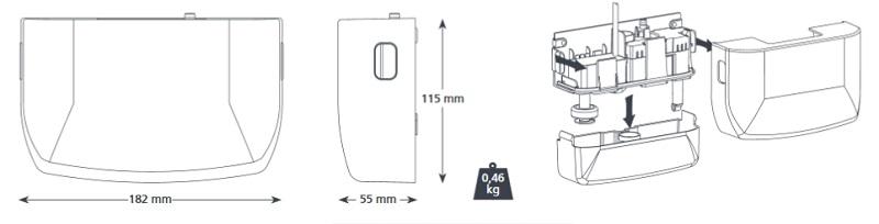 Bomba de condensados ASPEN Mini Blanc - Esquema