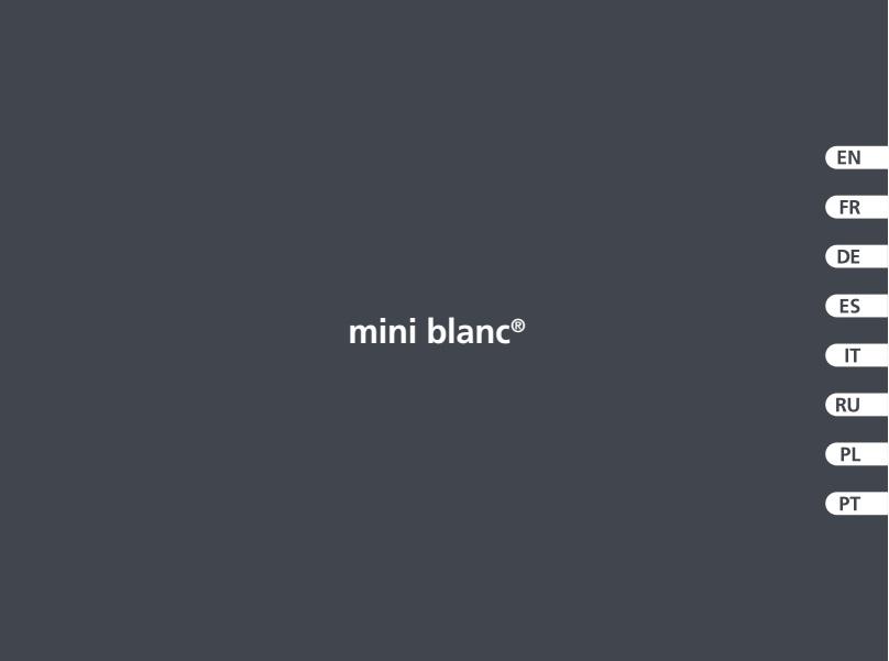 Bomba de condensados ASPEN Mini Blanc - Manual