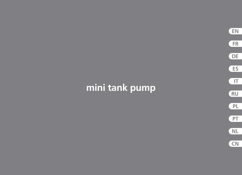 Bomba de condensados ASPEN Mini Tank - manual