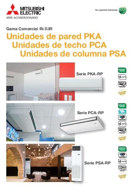 Catalogo Comercial Mitsubishi Split-Serie SPKZS-Standard Inverter