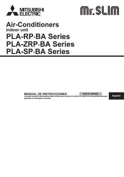 Manual Mitsubishi HPLZS-Pla