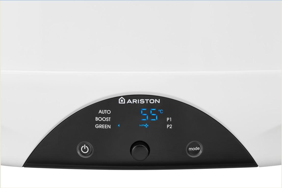 Bomba de calor para ACS Ariston NUOS PRIMO - Panel