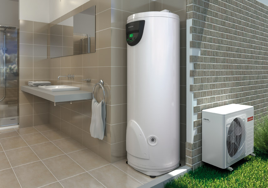 Bomba de calor para ACS Ariston NUOS SPLIT FLEX FS - Ambiente
