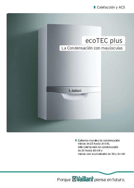 Catalogo Caldera Vaillant ecoTEC plus