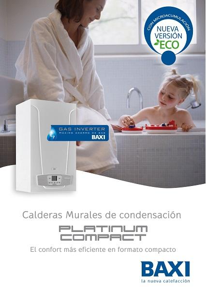 Catalogo comercial Baxi Platinum Compact ECO