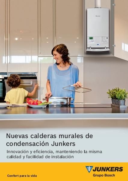 Catalogo comercial Calderas Junkers murales de condensacion