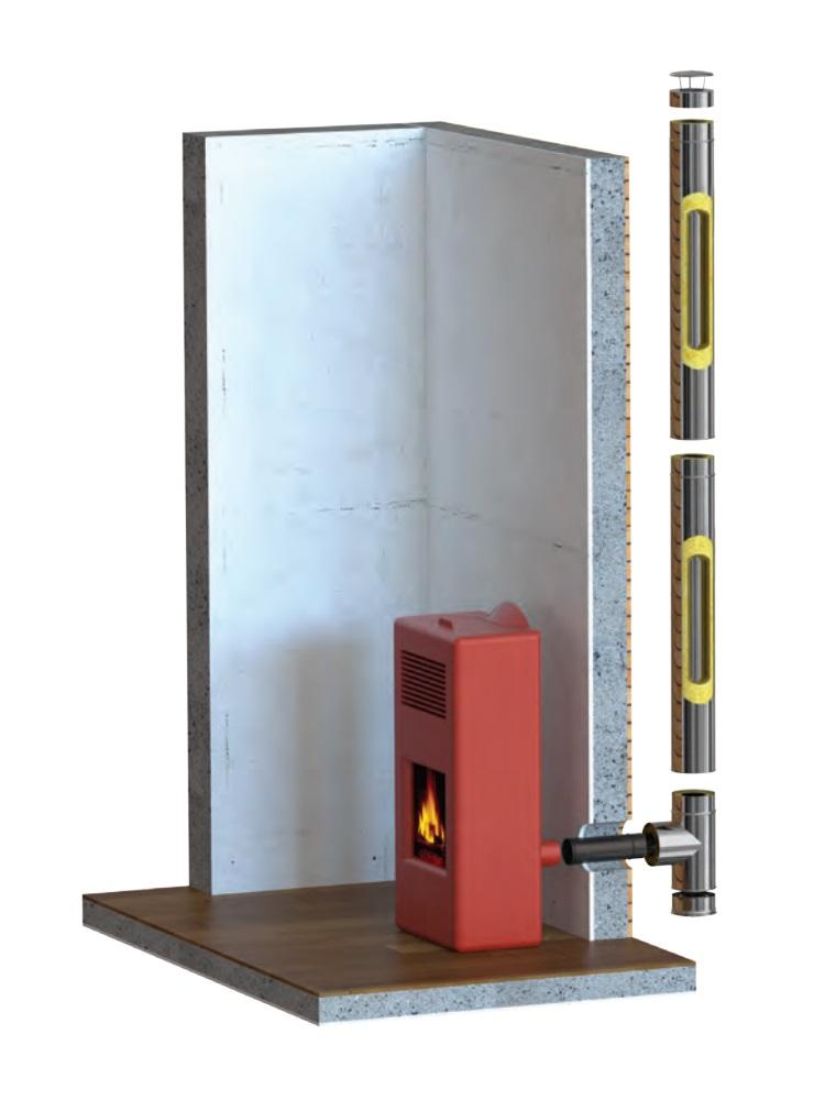 Ejemplo montaje aislado exteriores evita condensaciones