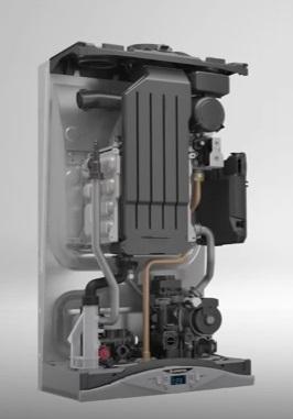 Interior Caldera a gas Ariston CARES PREMIUM