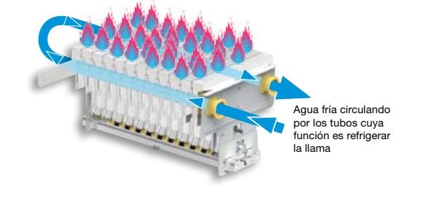 Calentador a gas Cointra CPE T - Quemador