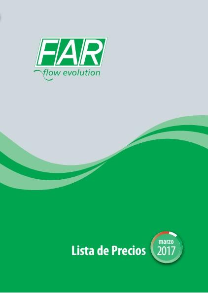 Catalogo tarifa FAR 2017