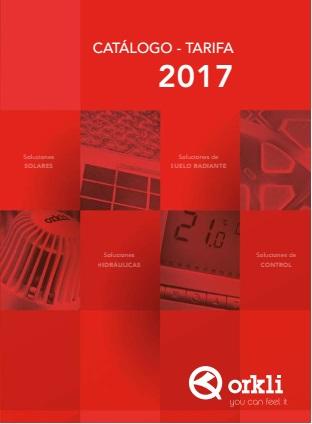 Catalogo tarifa Orkli 2017