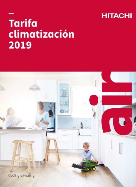 Catalogo tarifa Hitachi 2019