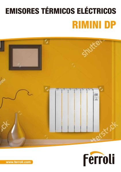 Emisor eléctrico Ferroli RIMINI DP - Ficha de producto