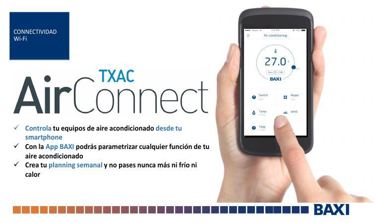 Catalogo comercial Modulo WIFI Baxi TXAC