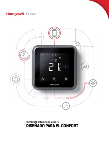 Termostato Honeywell Lyric T6 - Catalogo