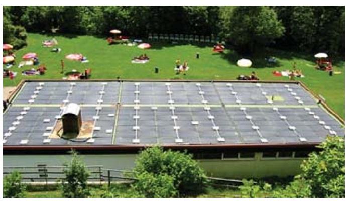 Instalacion Panel solar para piscina Termicol