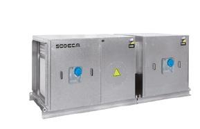 Unidad de Filtración Sodeca UFRX