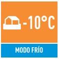 caracteristia MODO FRIO -10C