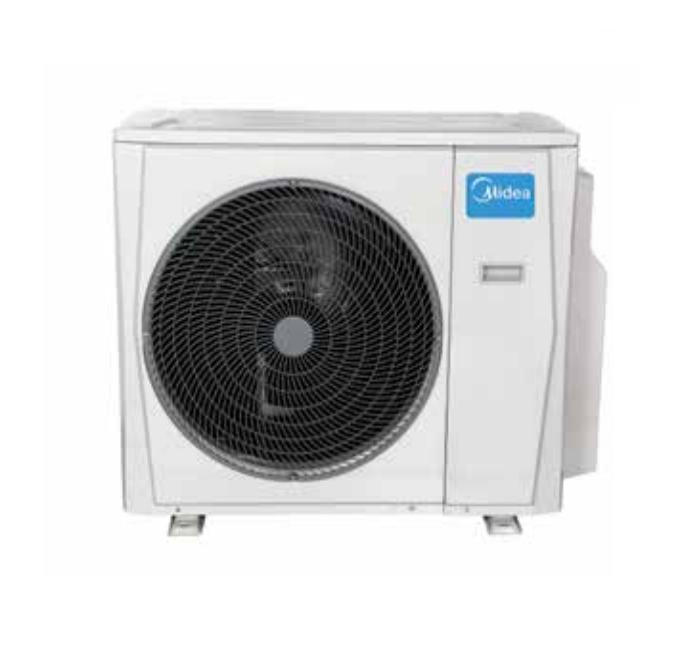 Aire acondicionado unidad exterior 2x1 midea m2oe 14hfn1 q - Aire acondicionado cuadro ...