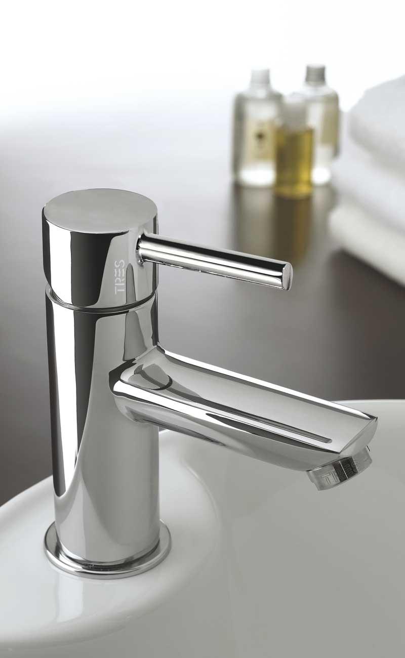 Grifo lavabo tres lex for Cambiar grifo lavabo