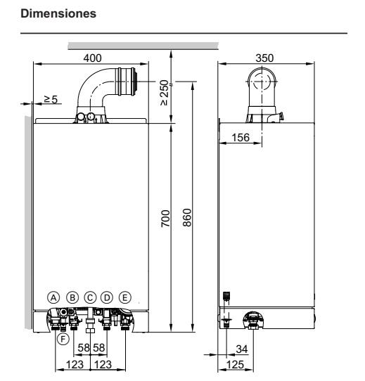 Calderas a gas caldera a gas de condensaci n viessmann for Viessmann vitodens 100 prezzo