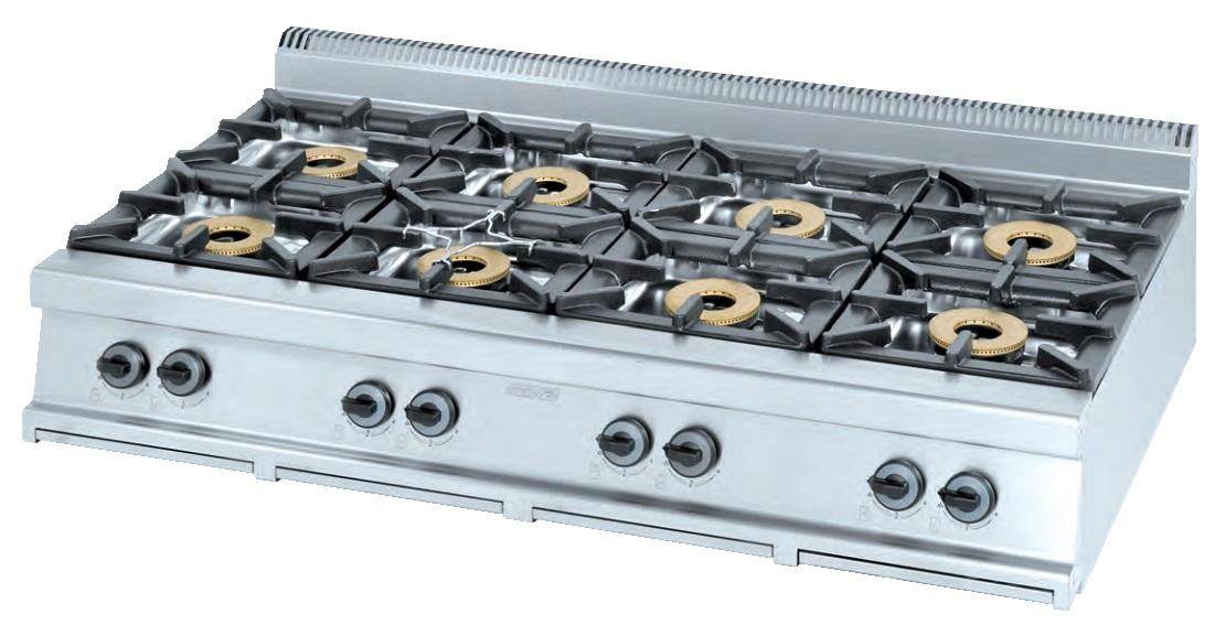Cocina de sobremesa eurast 3405s 4 fuegos for Cocina de gas de dos fuegos