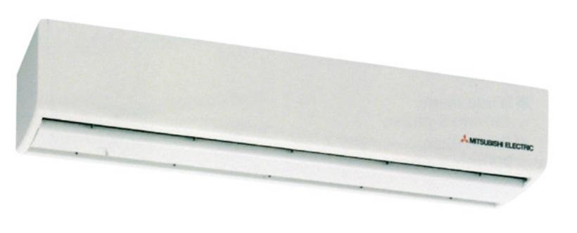 Cortina de aire mitsubishi electric gk 2509 - Cortinas de aire caliente ...