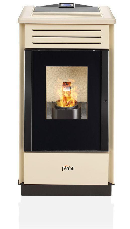 Estufa de pellets ferroli gema for Estufa a pellet precio