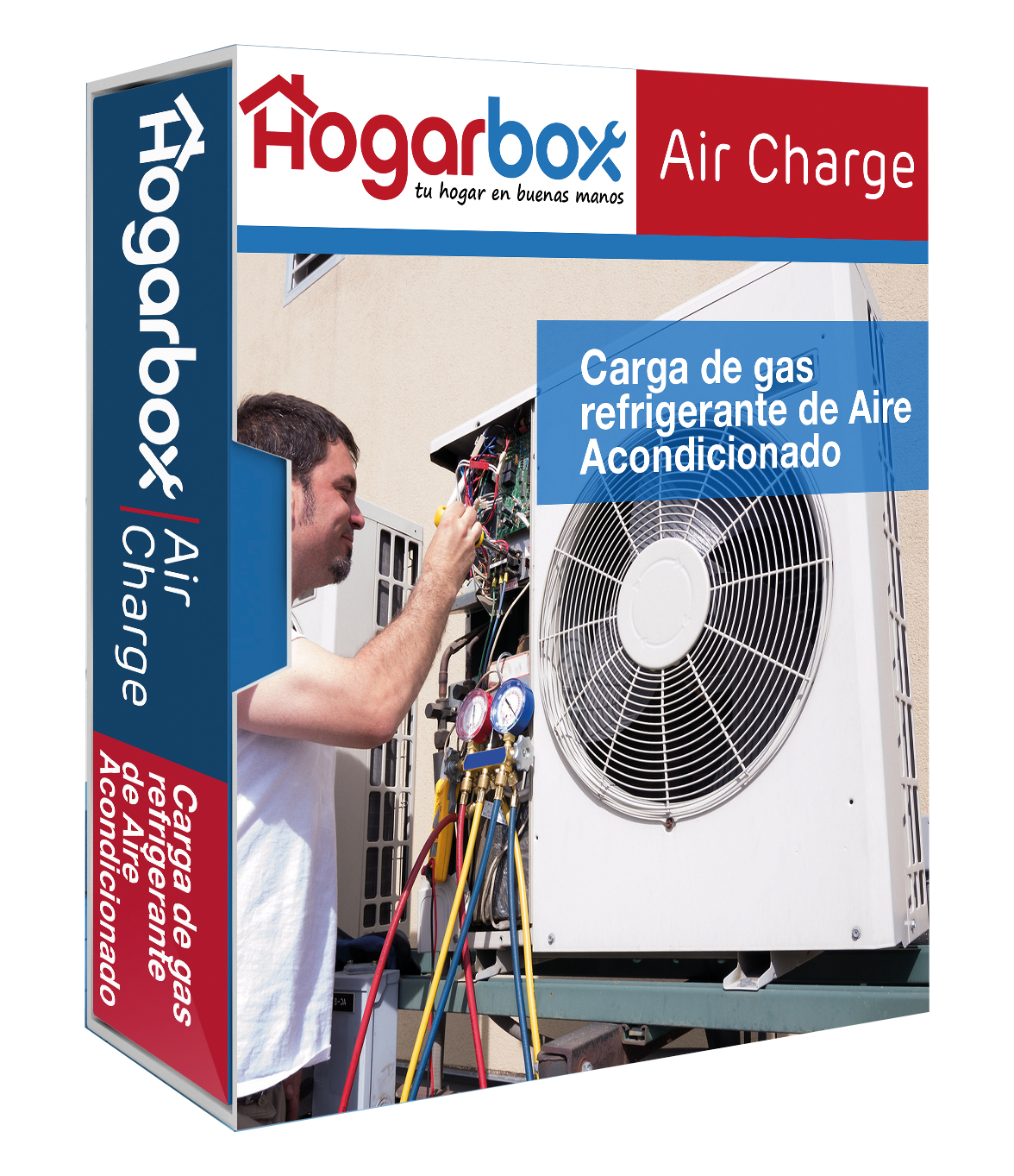 Carga de Gas Refrigerante para Aire Acondicionado