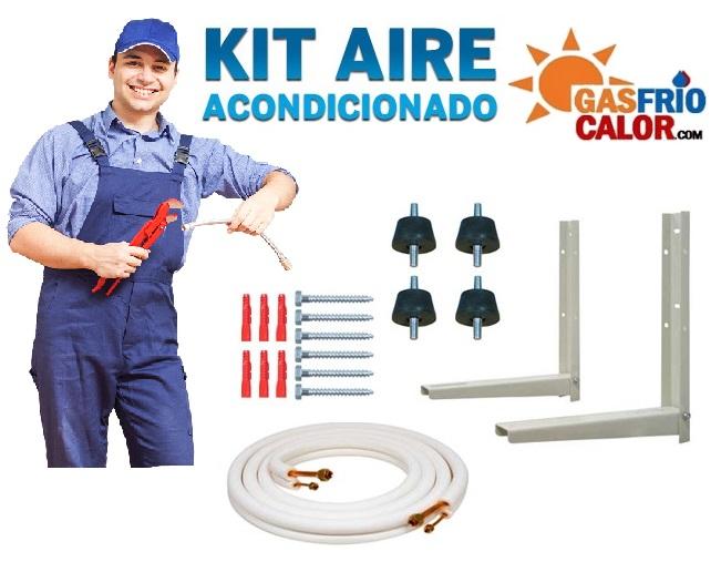 Kit accesorio de montaje para Aire Acondicionado Split hasta 3kw