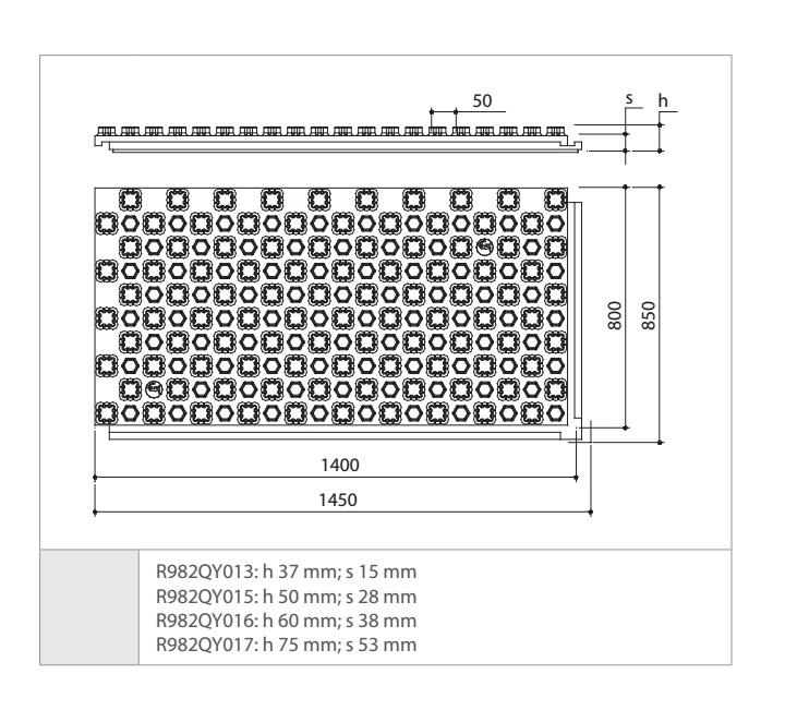 Panel aislante preformado para suelo radiante giacomini r982qy013 - Precio suelo radiante ...