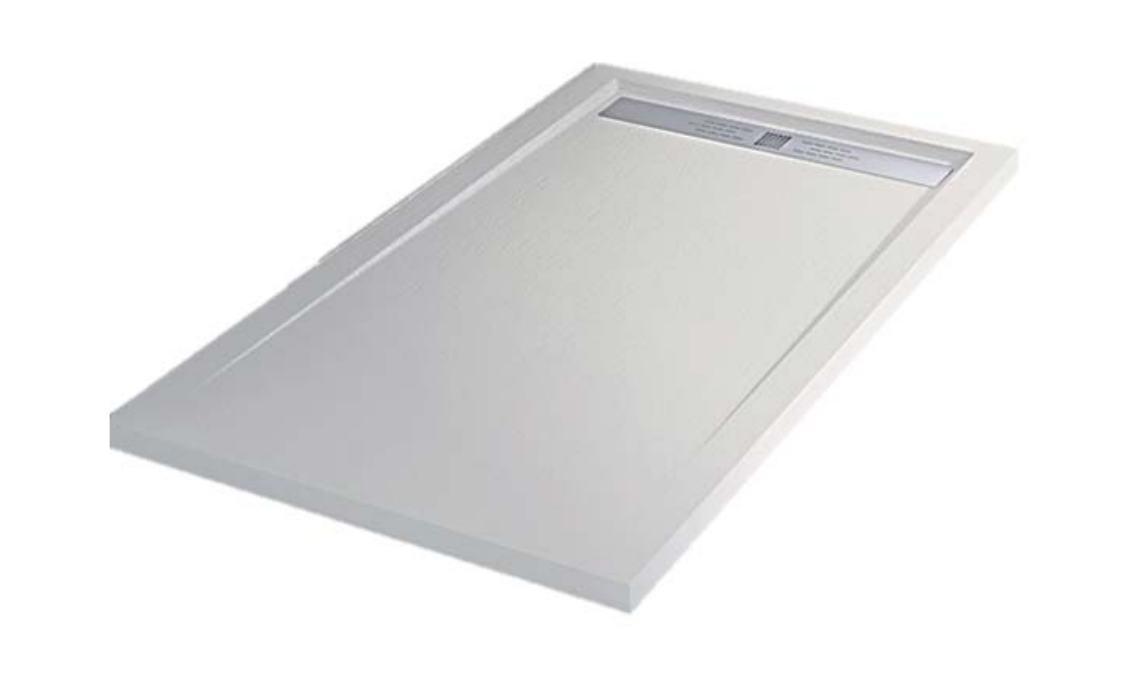 Plato de ducha resina alterna etna 80 x 170 cm for Reparar plato de ducha de resina