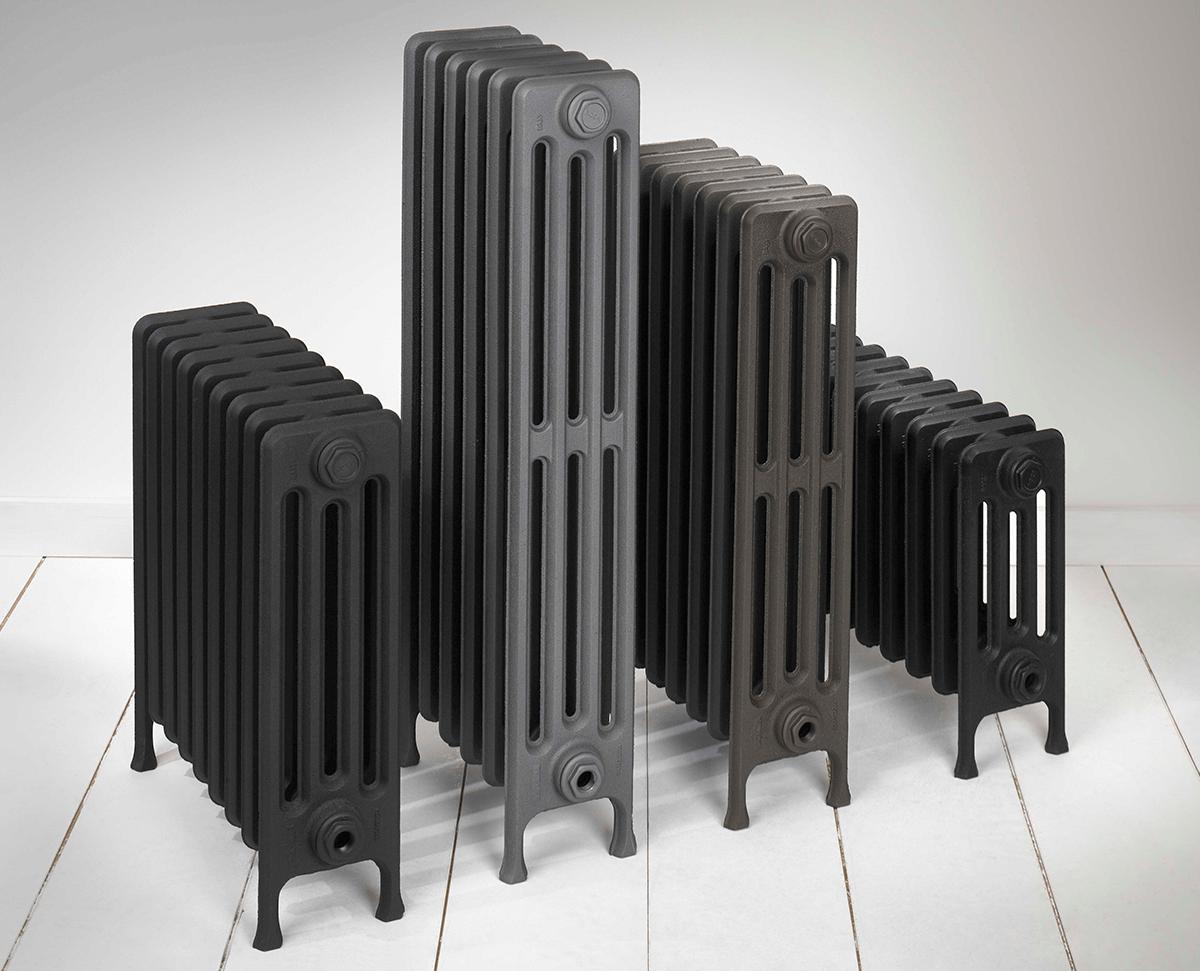 Radiador de hierro fundido baxi clasico n61 4 con patas - Baneras de hierro fundido ...
