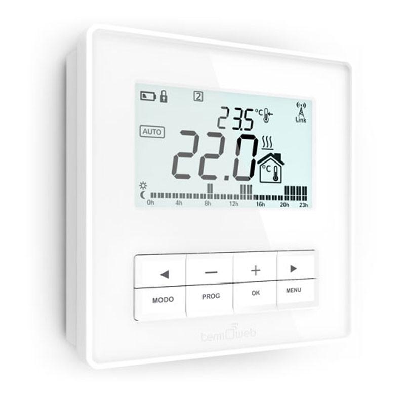 Termostato ducasa adicional 3g wifi para calderas for Termostato analogico calefaccion