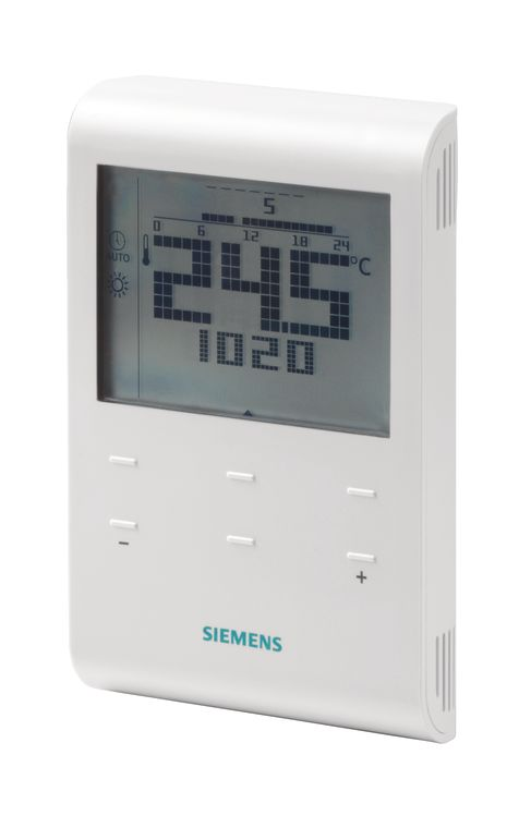 Termostato digital siemens rde 100 for Termostato roca calefaccion