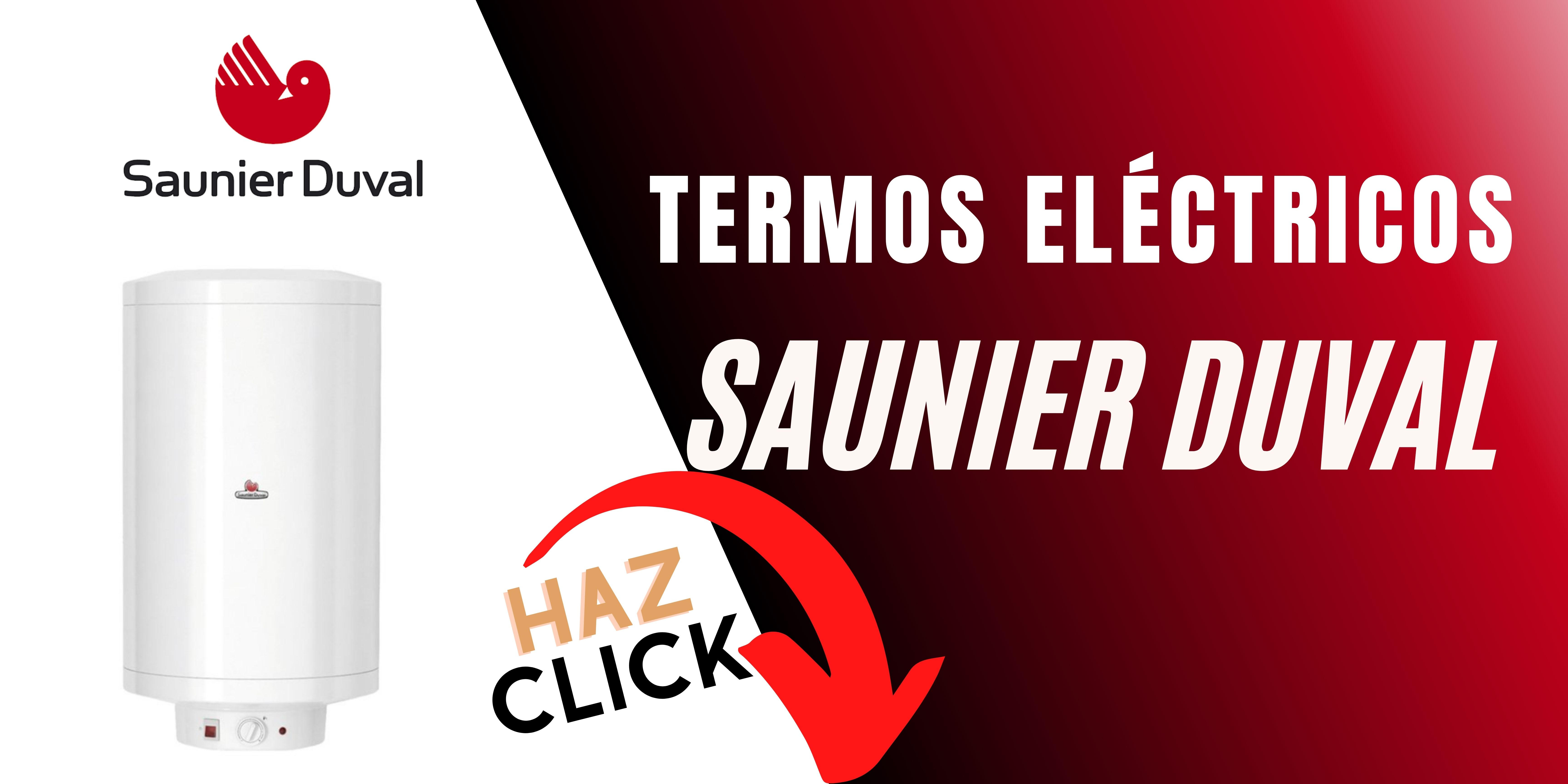 Termo eléctrico Saunier Duval mejor precio online