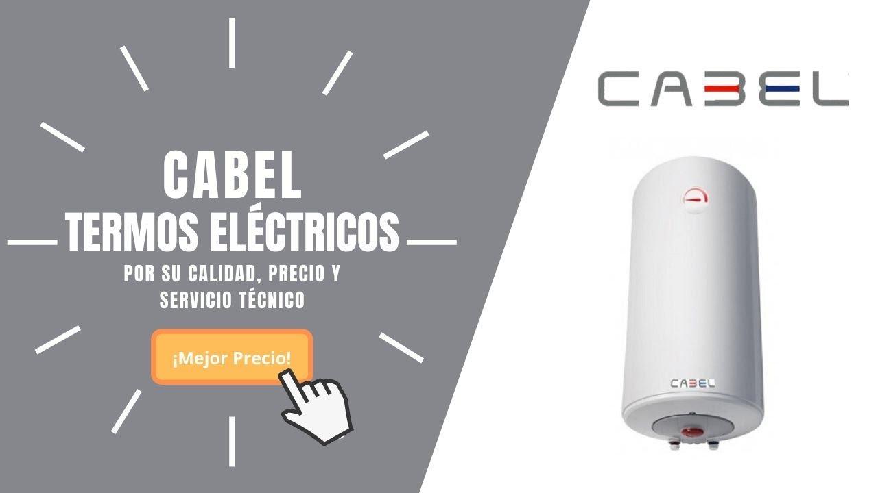 TERMOS ELÉCTRICOS CABEL PRECIOS