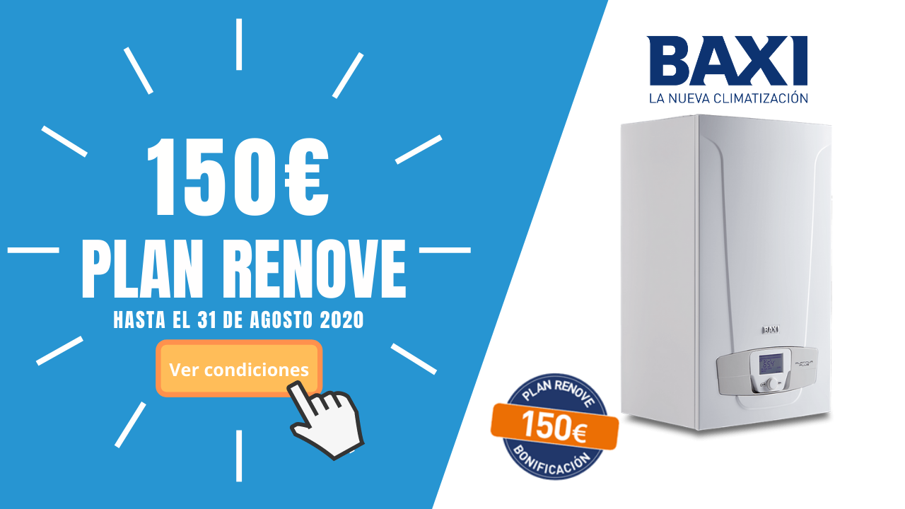Promo Baxi 150€ Platinum Plus