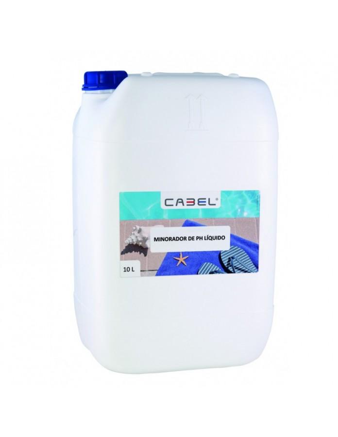 Minorador líquido de PH 10 litros Cabel