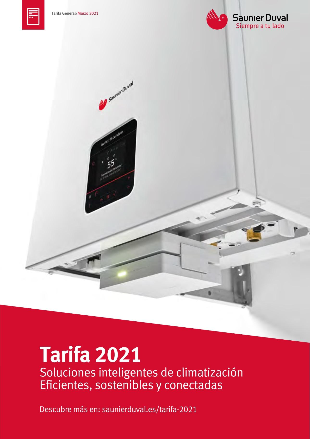 Tarifa Saunier Duval 2021