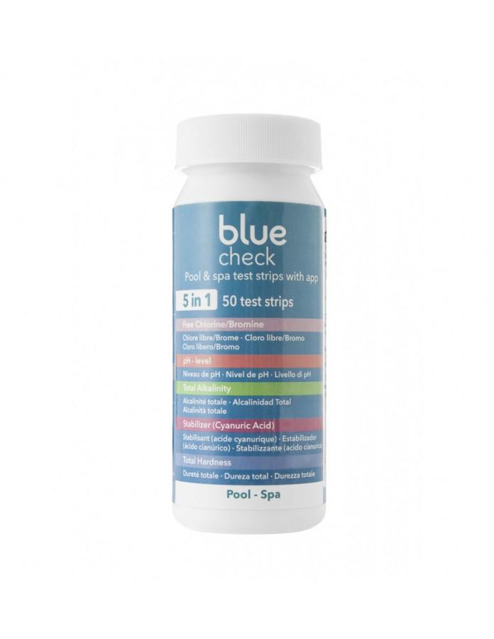 Tiras de análisis AstralPool Blue check 5 en 1
